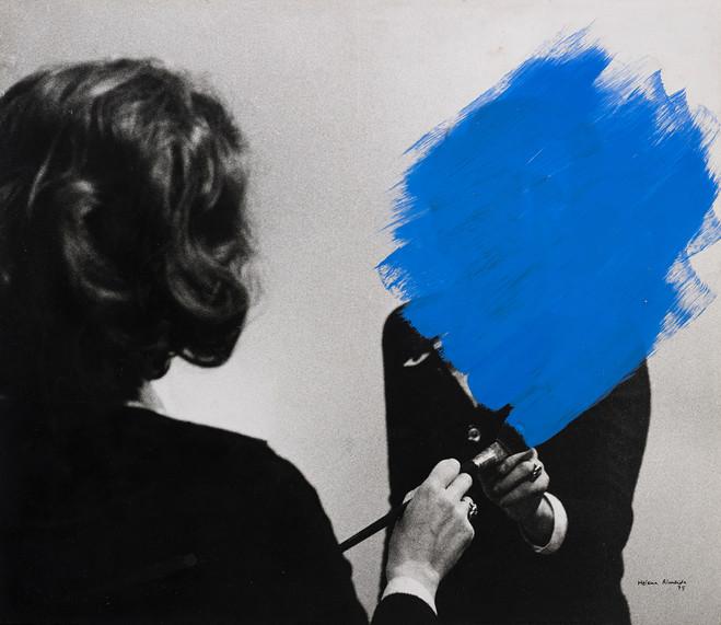 Helena almeida corpus jeu de paume concorde for Art conceptuel peinture